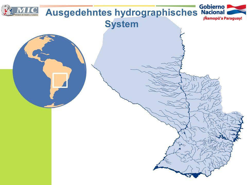 Ausgedehntes hydrographisches System