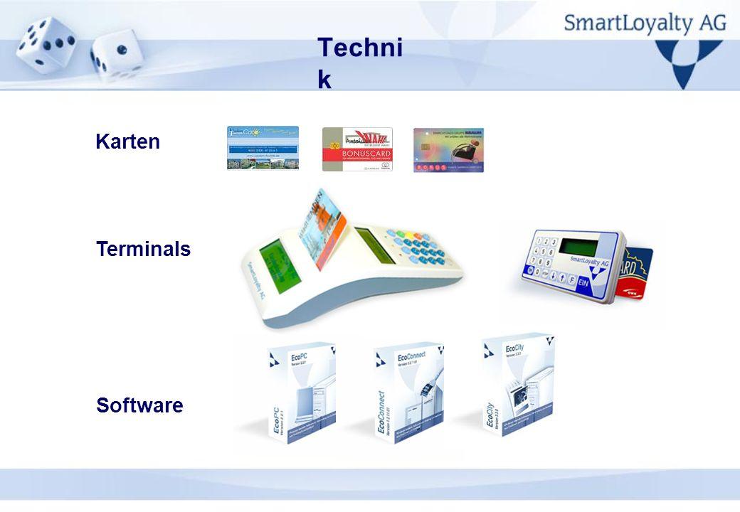 Technik Karten Terminals Software