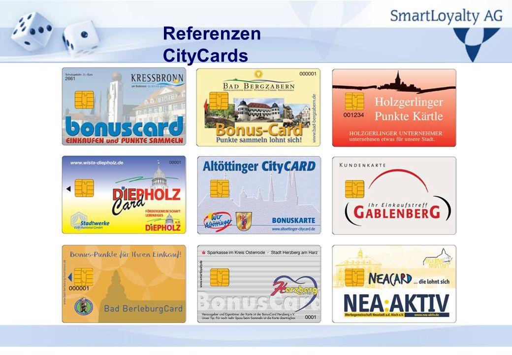 Referenzen CityCards