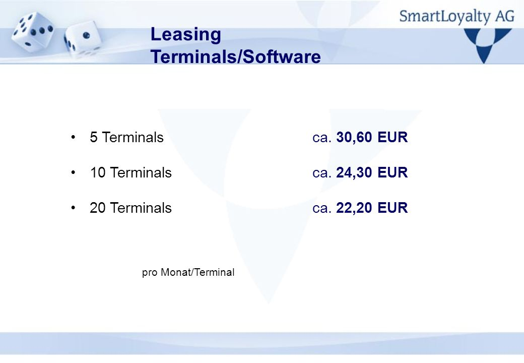 Leasing Terminals/Software