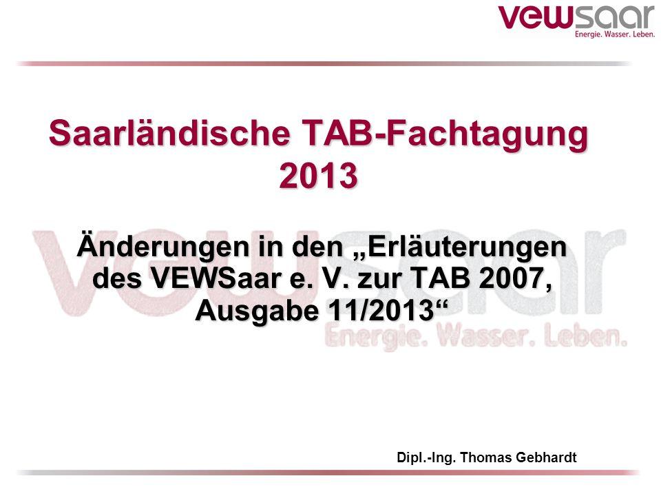 Saarländische TAB-Fachtagung 2013