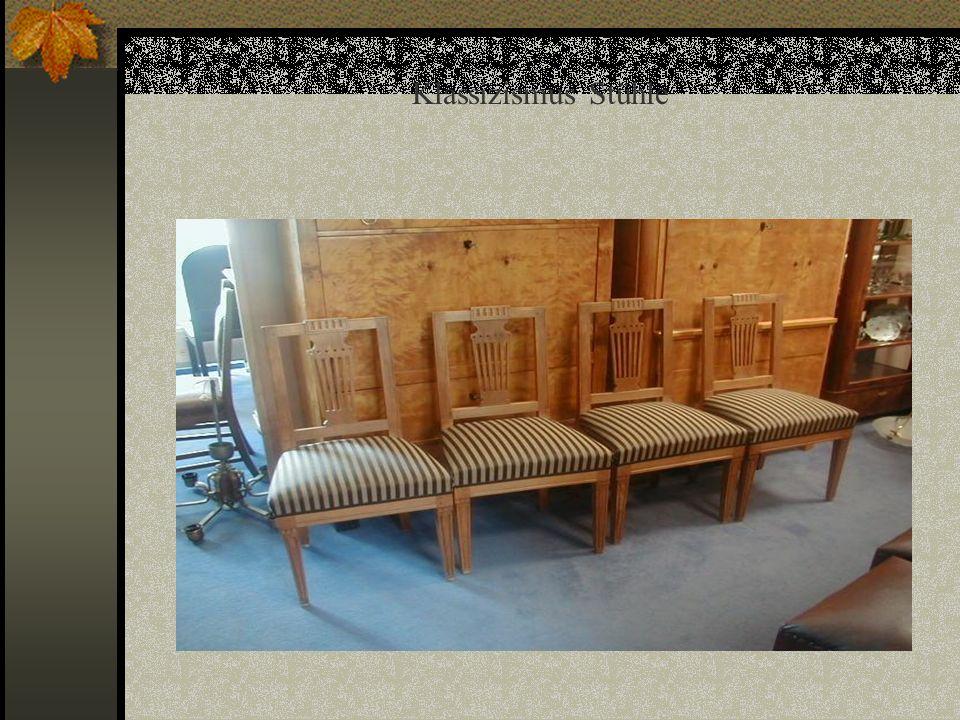 Klassizismus Stühle
