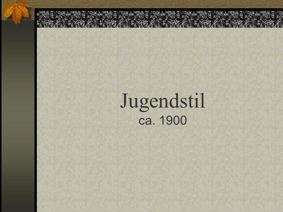 Jugendstil ca. 1900