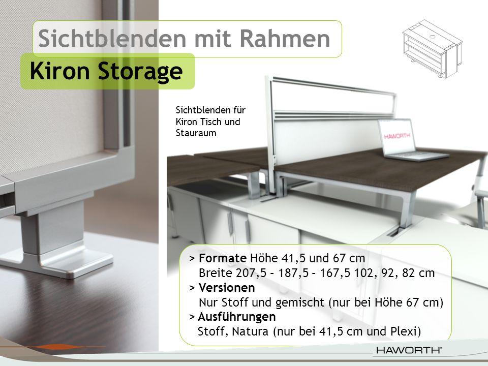Sichtblenden mit Rahmen Kiron Storage