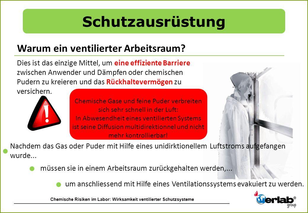 Schutzausrüstung Warum ein ventilierter Arbeitsraum