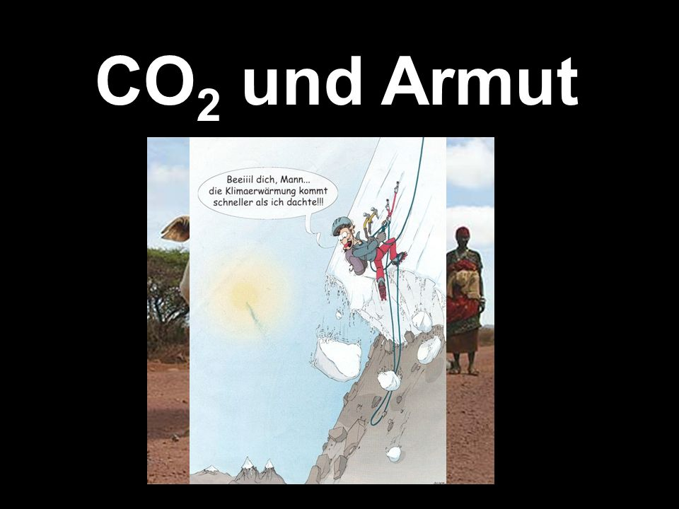 CO2 und Armut
