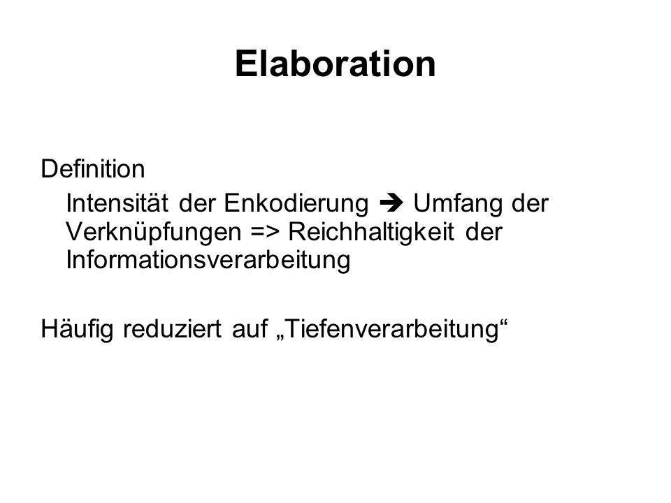 Elaboration Definition