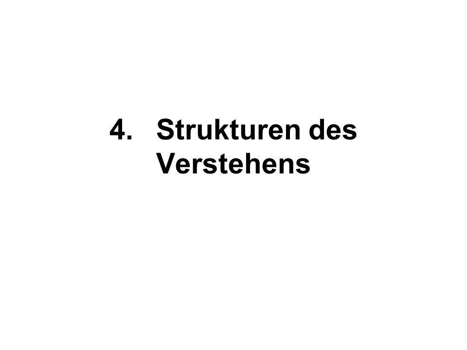 4. Strukturen des Verstehens