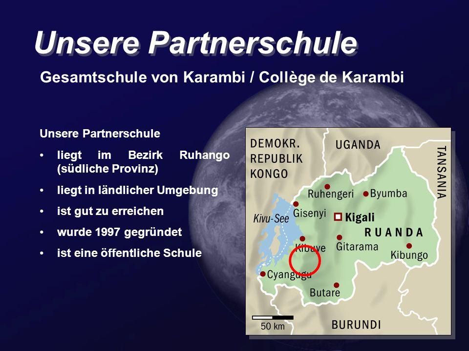 Unsere Partnerschule Gesamtschule von Karambi / Collège de Karambi