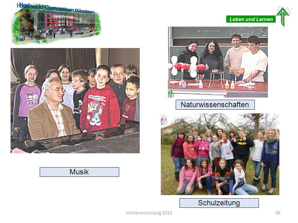 Naturwissenschaften Musik Schulzeitung Leben und Lernen