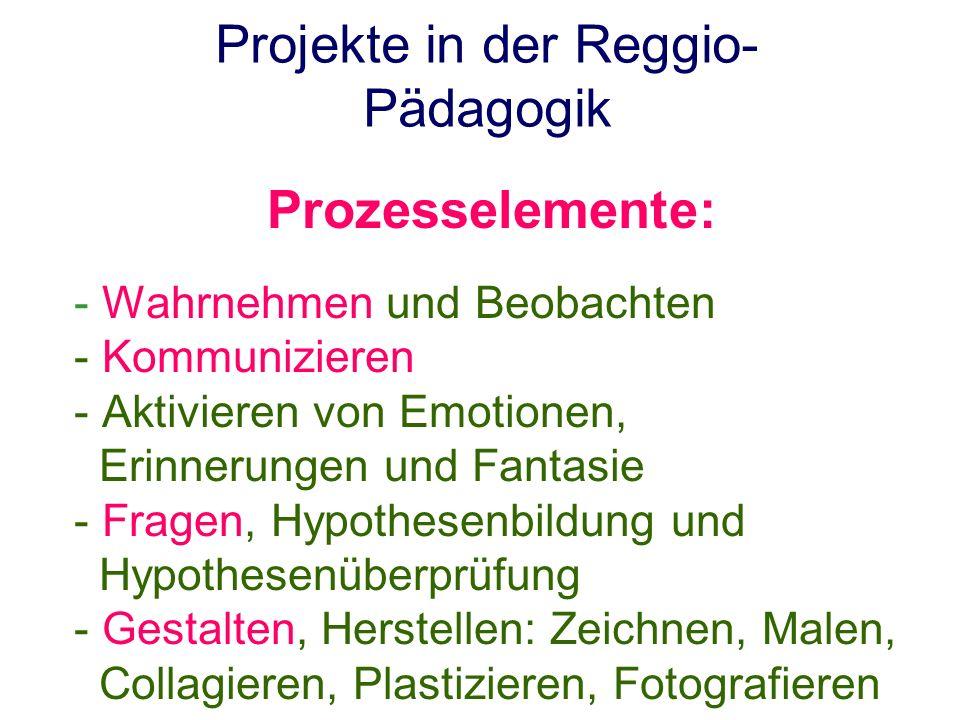 Projekte in der Reggio-Pädagogik