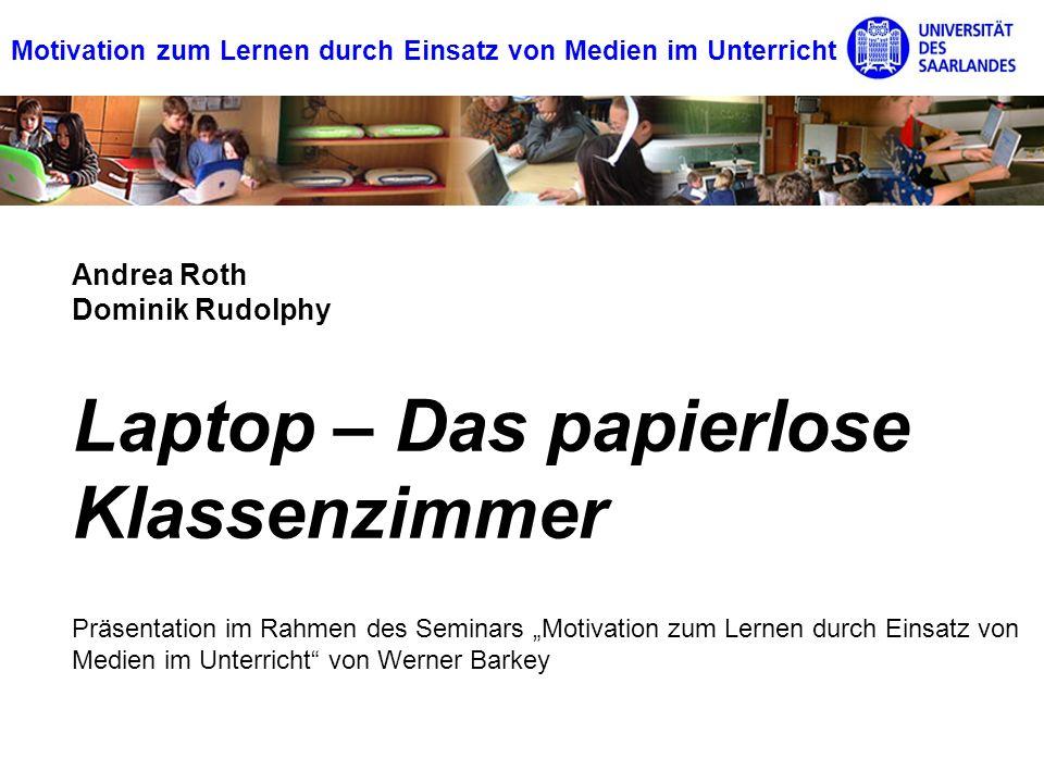 Laptop – Das papierlose Klassenzimmer