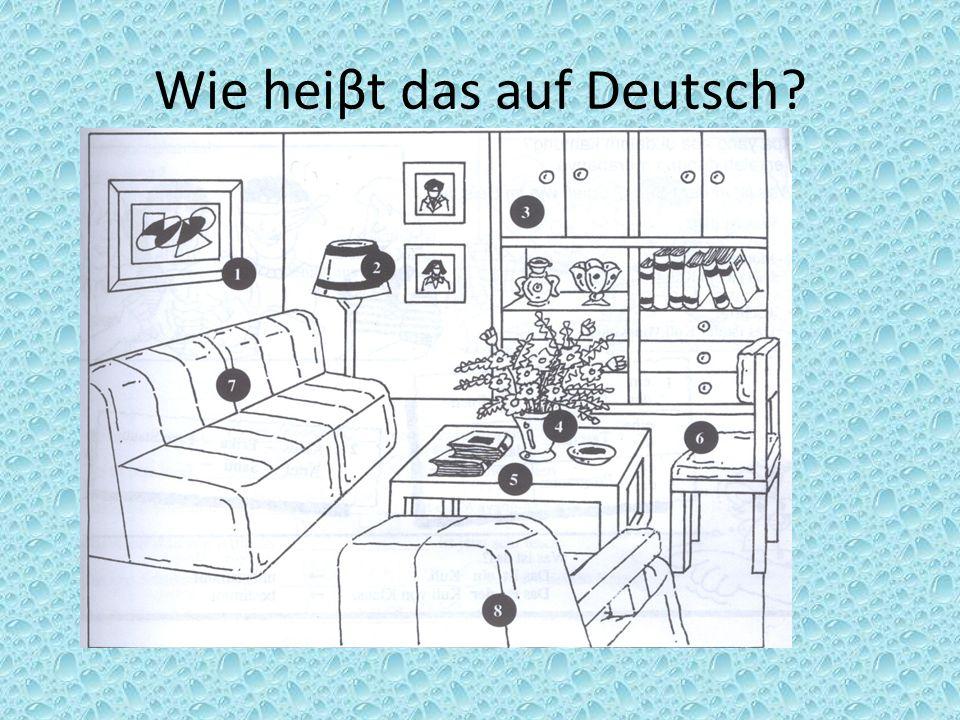 Wie heiβt das auf Deutsch