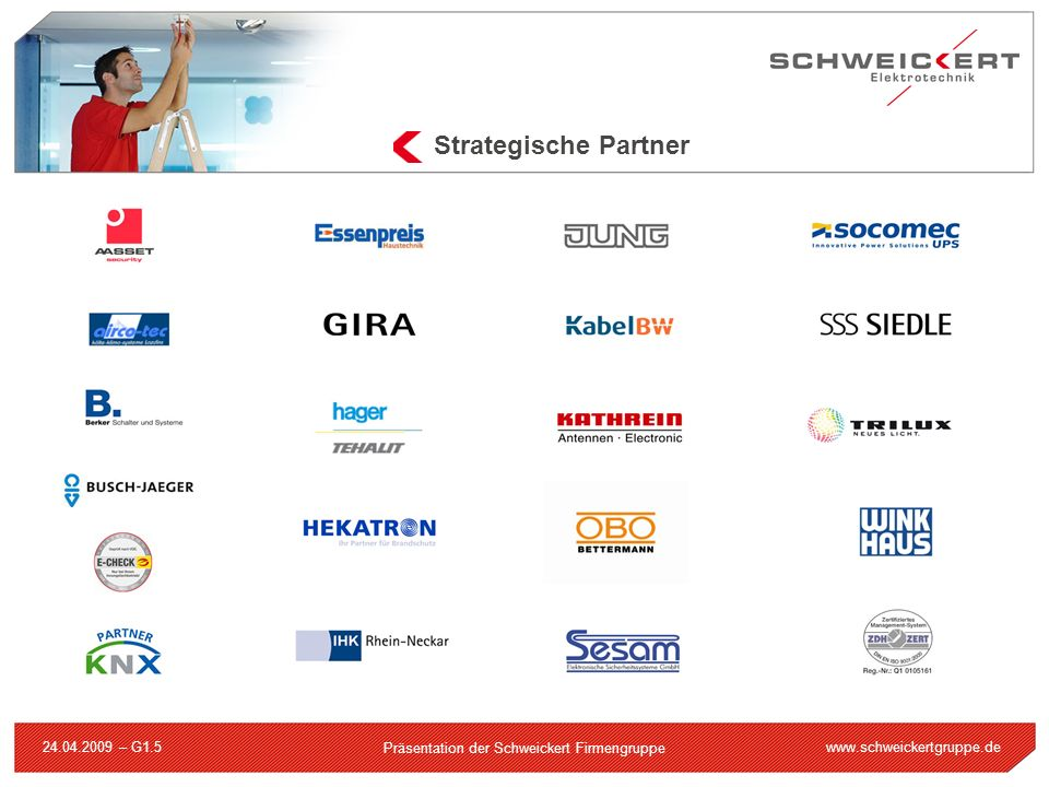 Strategische Partner 24.04.2009 – G1.5