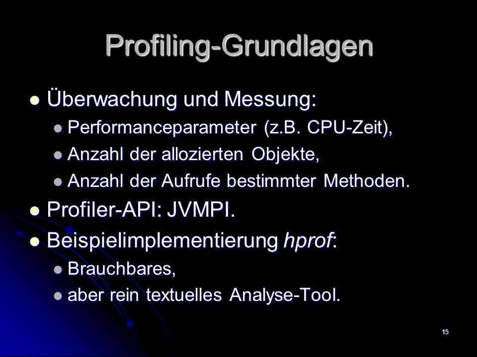 Profiling-Grundlagen