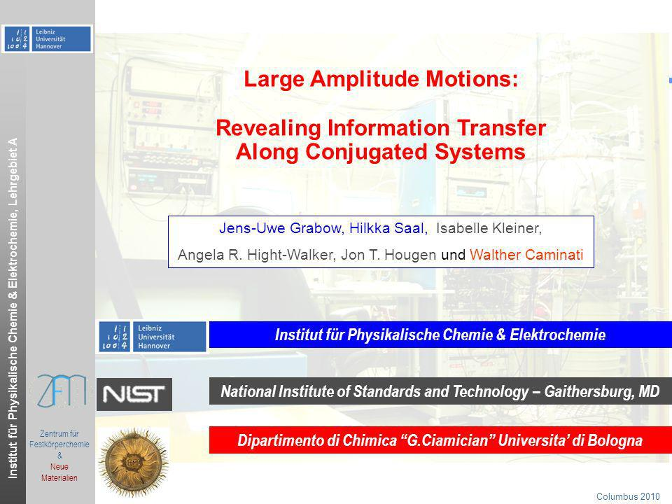 Large Amplitude Motions: Revealing Information Transfer