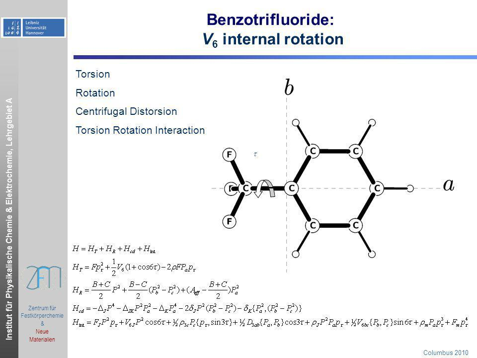 Benzotrifluoride: V6 internal rotation