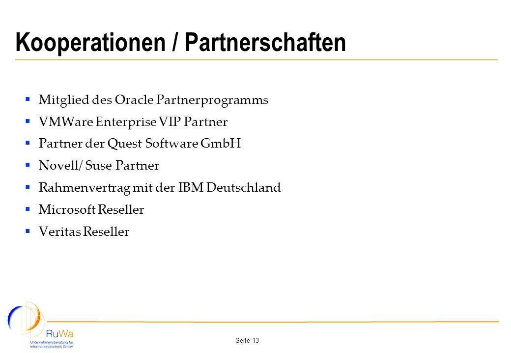Kooperationen / Partnerschaften