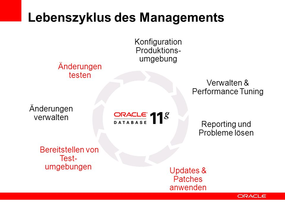 Lebenszyklus des Managements