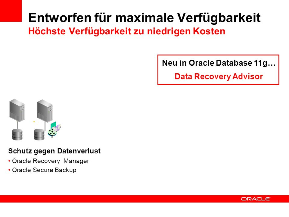 Neu in Oracle Database 11g…