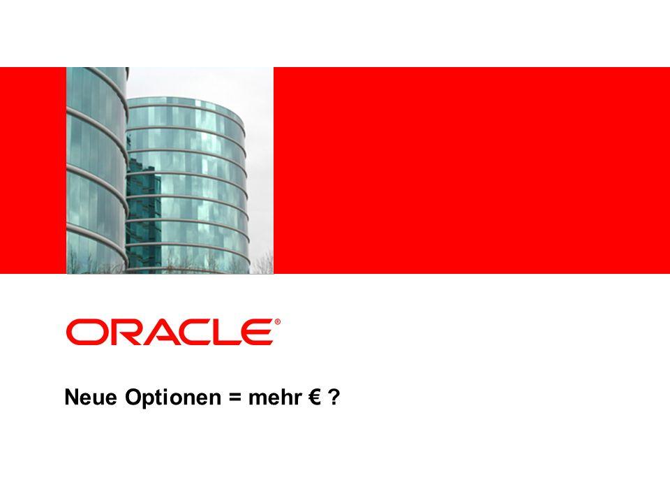 Neue Optionen = mehr €