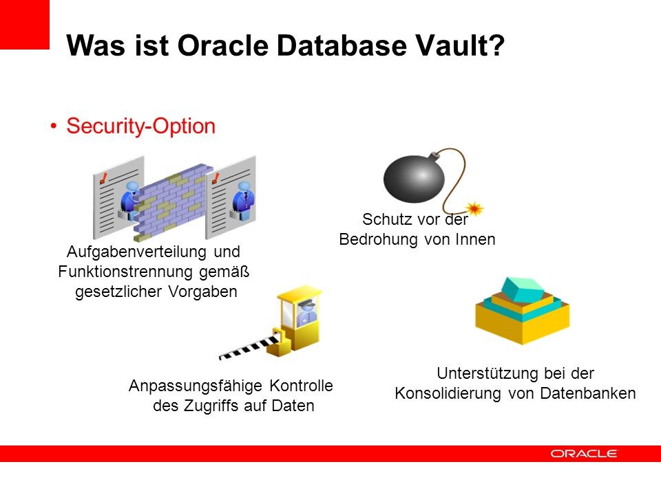 Was ist Oracle Database Vault