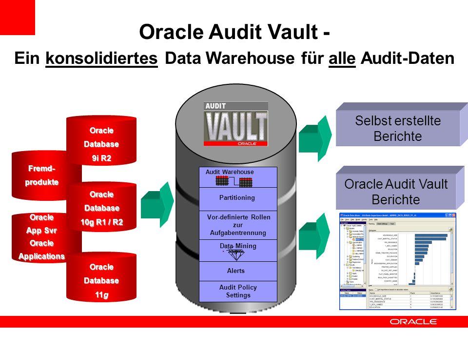Ein konsolidiertes Data Warehouse für alle Audit-Daten