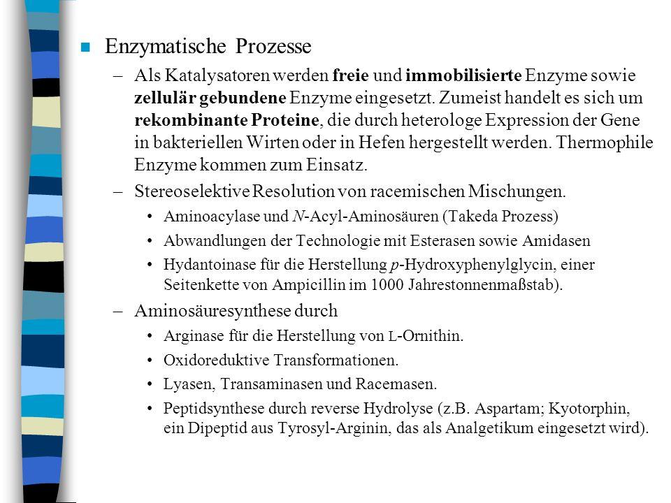 Enzymatische Prozesse