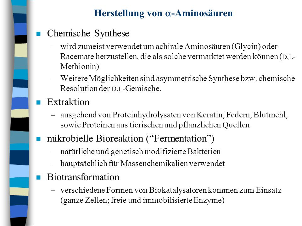 Herstellung von a-Aminosäuren