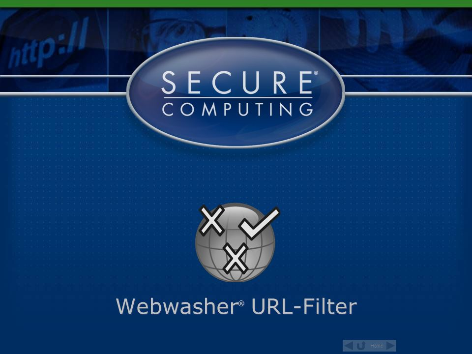 Webwasher® URL-Filter
