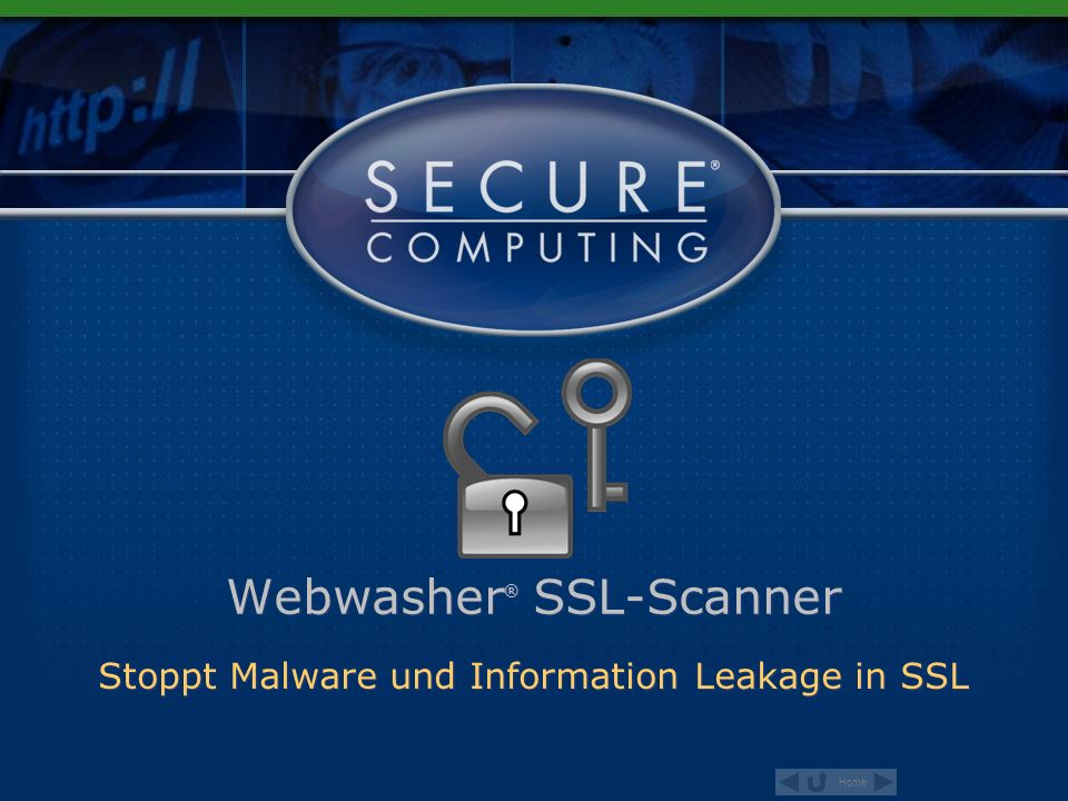 Webwasher® SSL-Scanner