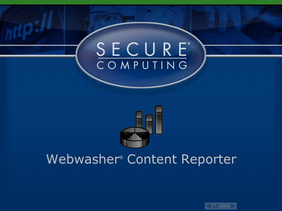 Webwasher® Content Reporter