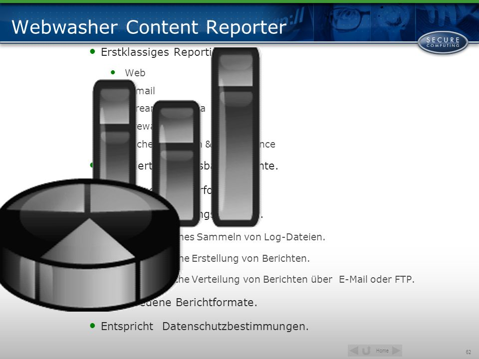 Webwasher Content Reporter