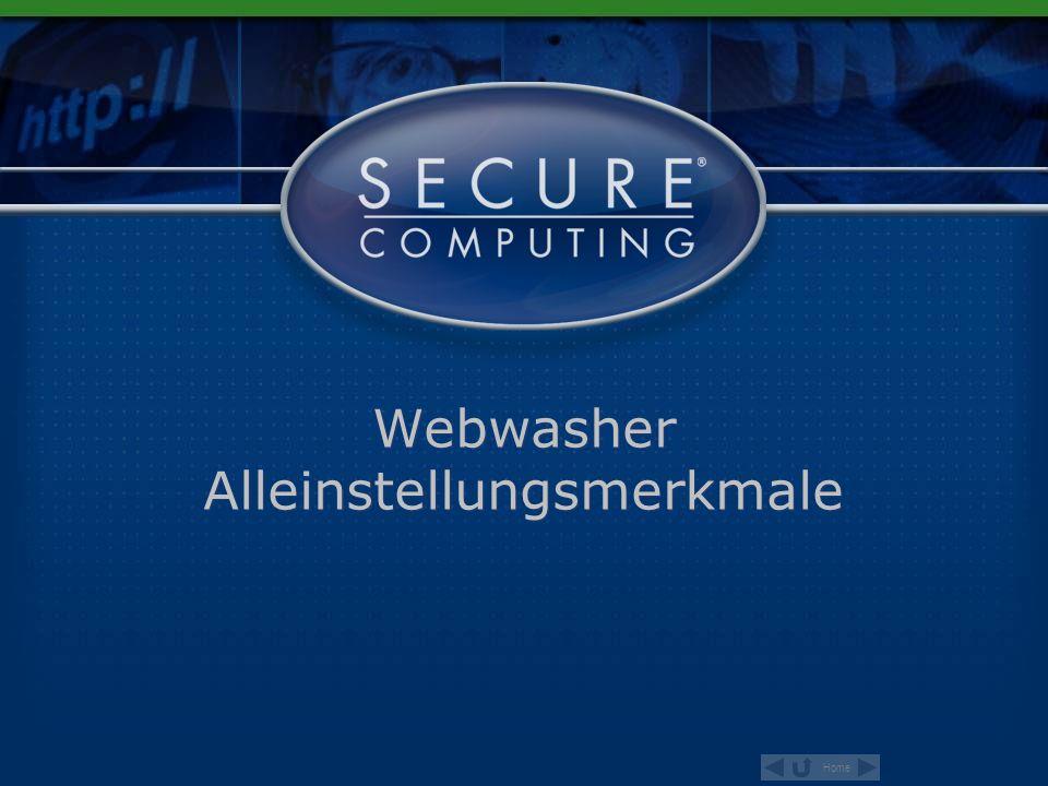 Webwasher Alleinstellungsmerkmale
