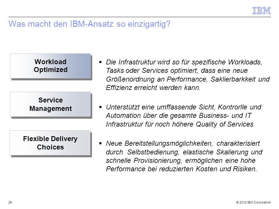 Was macht den IBM-Ansatz so einzigartig