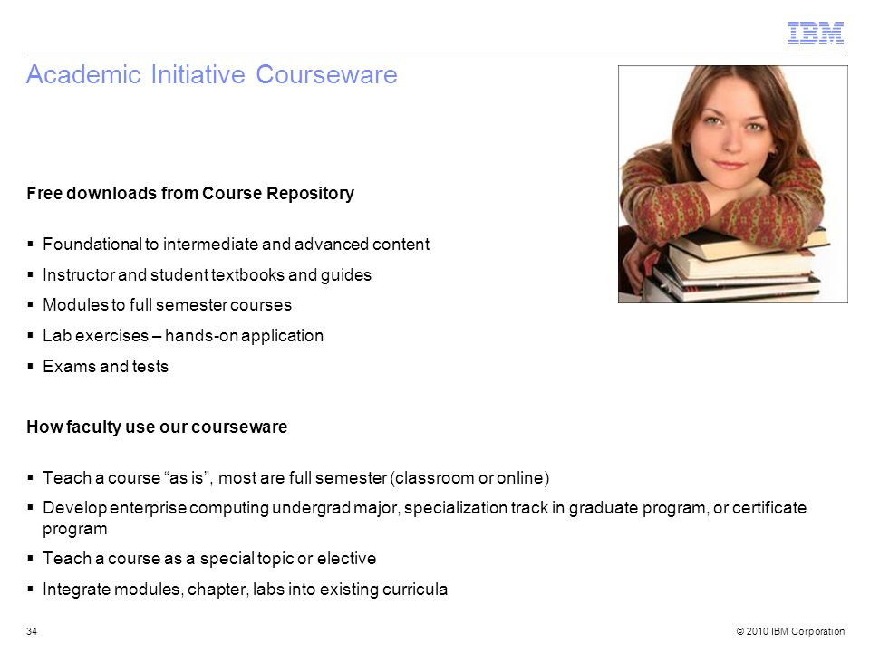 Academic Initiative Courseware
