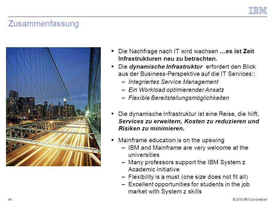 Zusammenfassung Die Nachfrage nach IT wird wachsen …es ist Zeit Infrastrukturen neu zu betrachten.