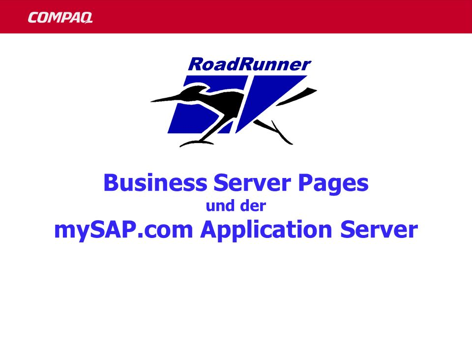 mySAP.com Application Server