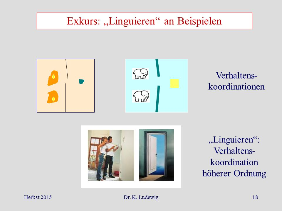 "Exkurs: ""Linguieren an Beispielen"