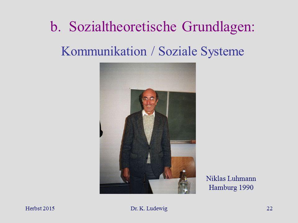 b. Sozialtheoretische Grundlagen: