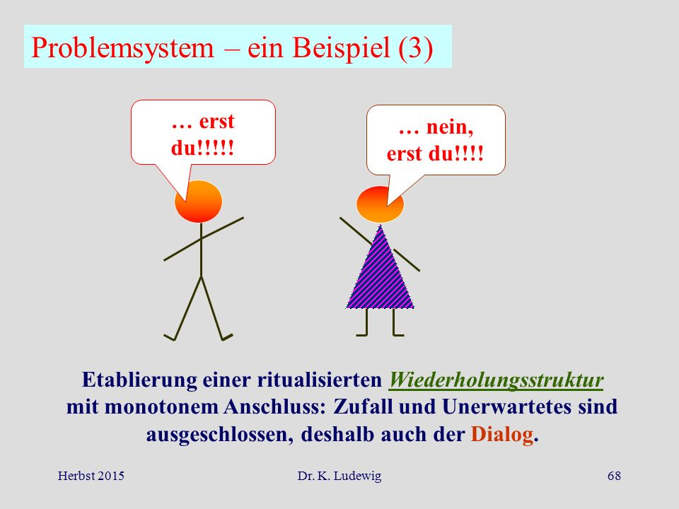 Problemsystem – ein Beispiel (3)