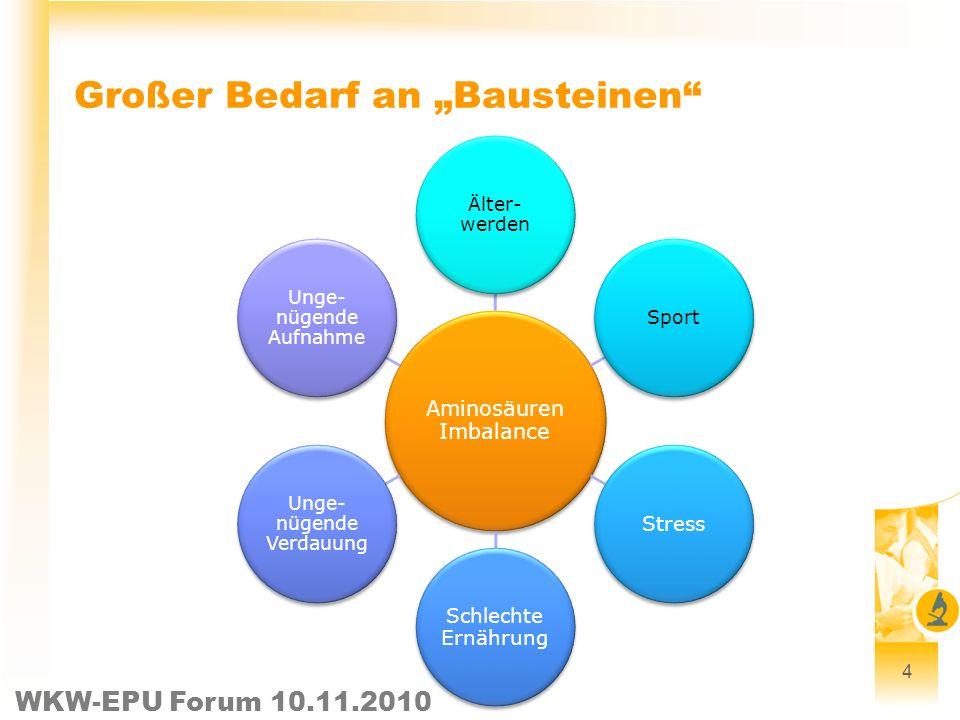 """Großer Bedarf an """"Bausteinen"""