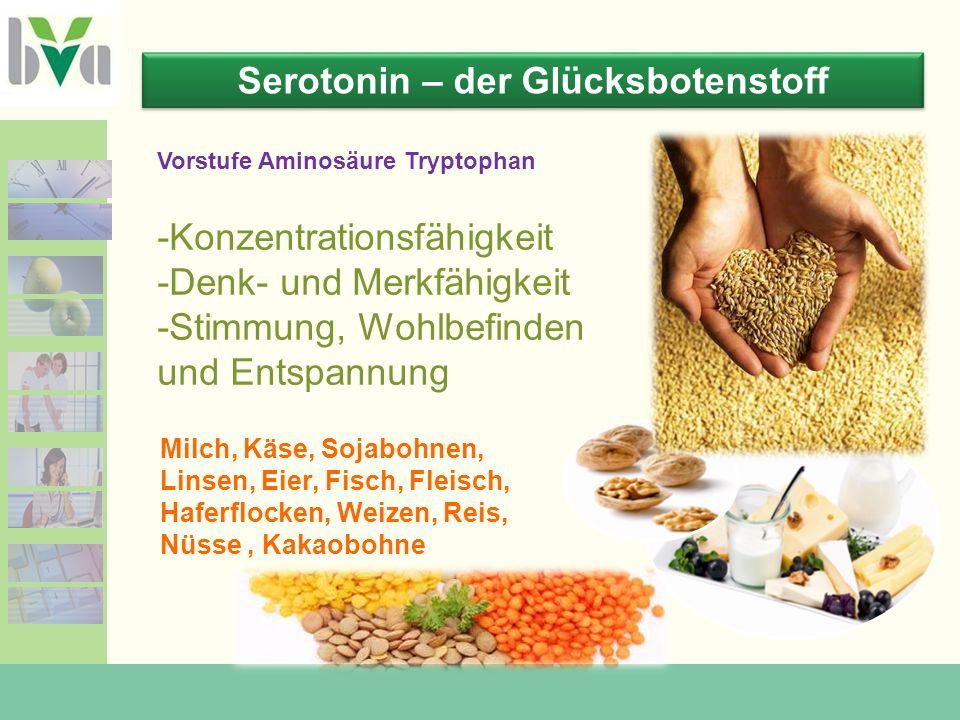 Serotonin – der Glücksbotenstoff