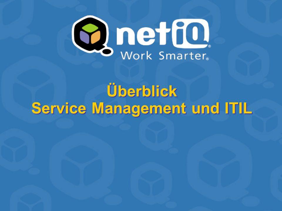 Überblick Service Management und ITIL
