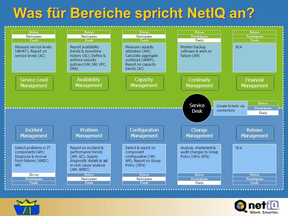 Was für Bereiche spricht NetIQ an