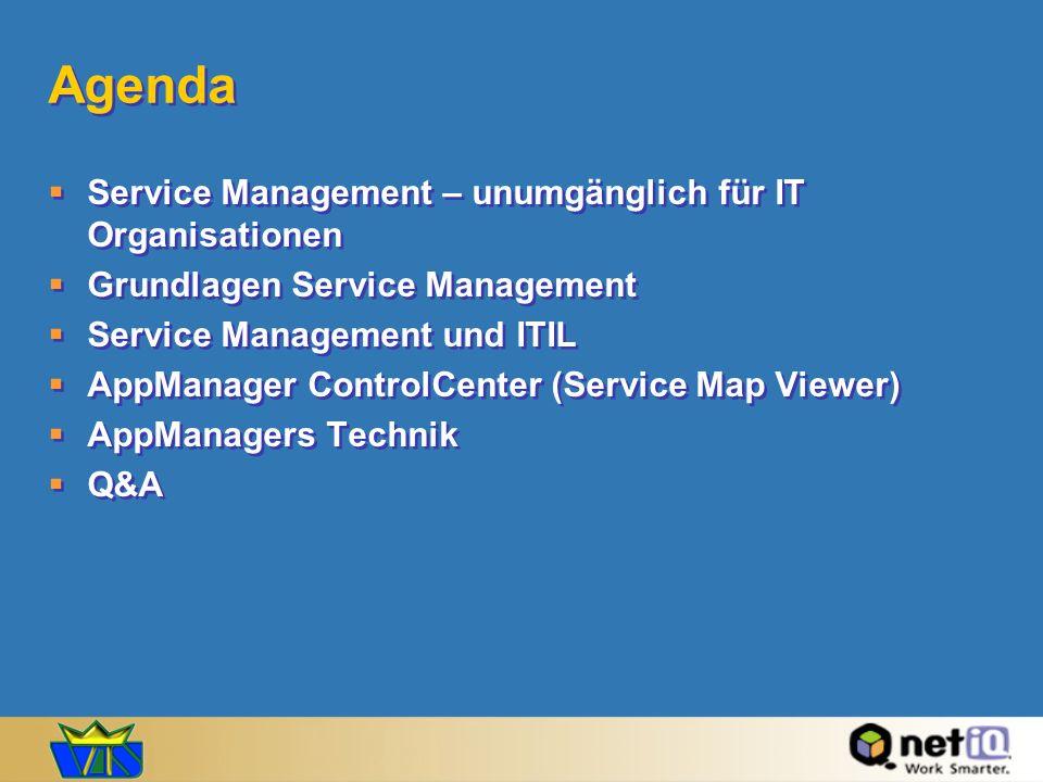 Agenda Service Management – unumgänglich für IT Organisationen