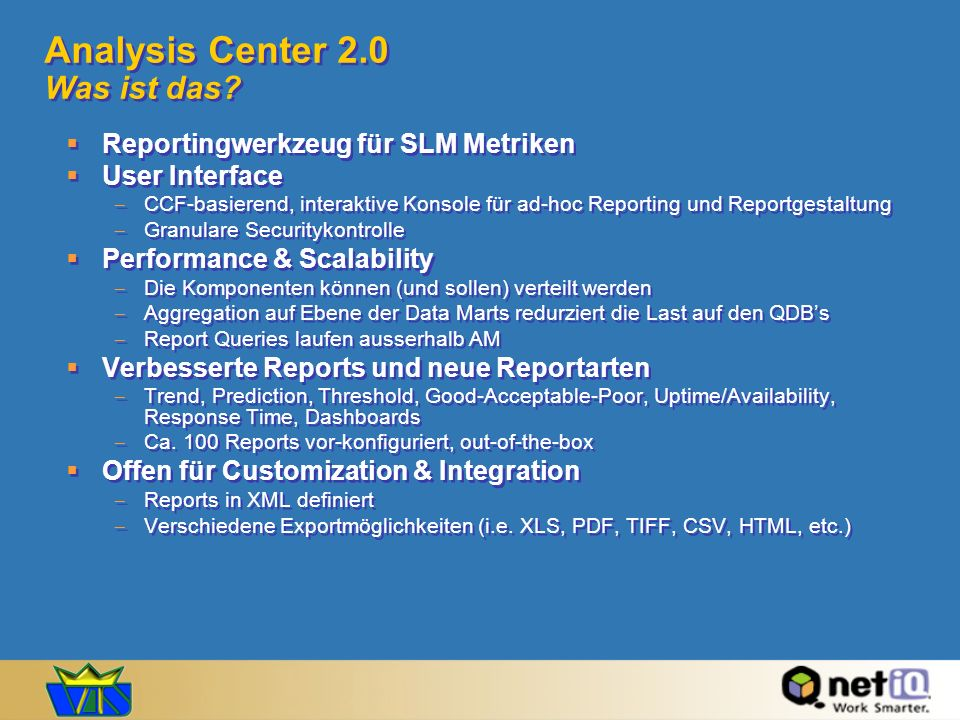 Analysis Center 2.0 Was ist das
