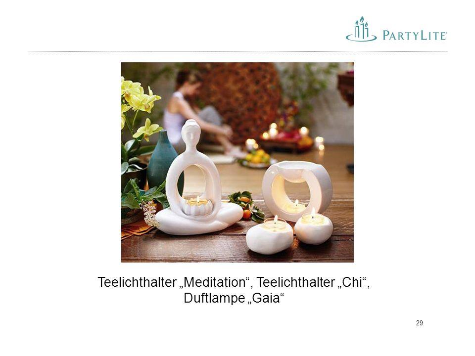 """Teelichthalter """"Meditation , Teelichthalter """"Chi , Duftlampe """"Gaia"""