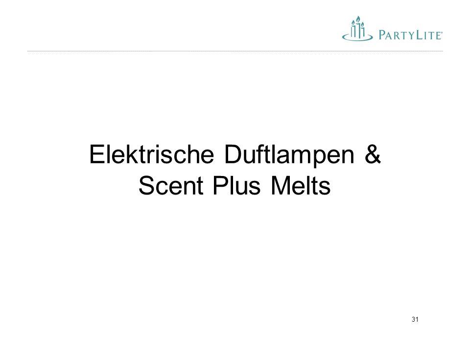 Elektrische Duftlampen & Scent Plus Melts