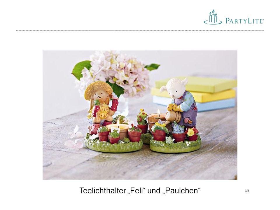 """Teelichthalter """"Feli und """"Paulchen"""